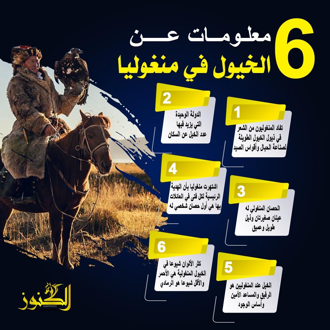 الخيول في منغوليا